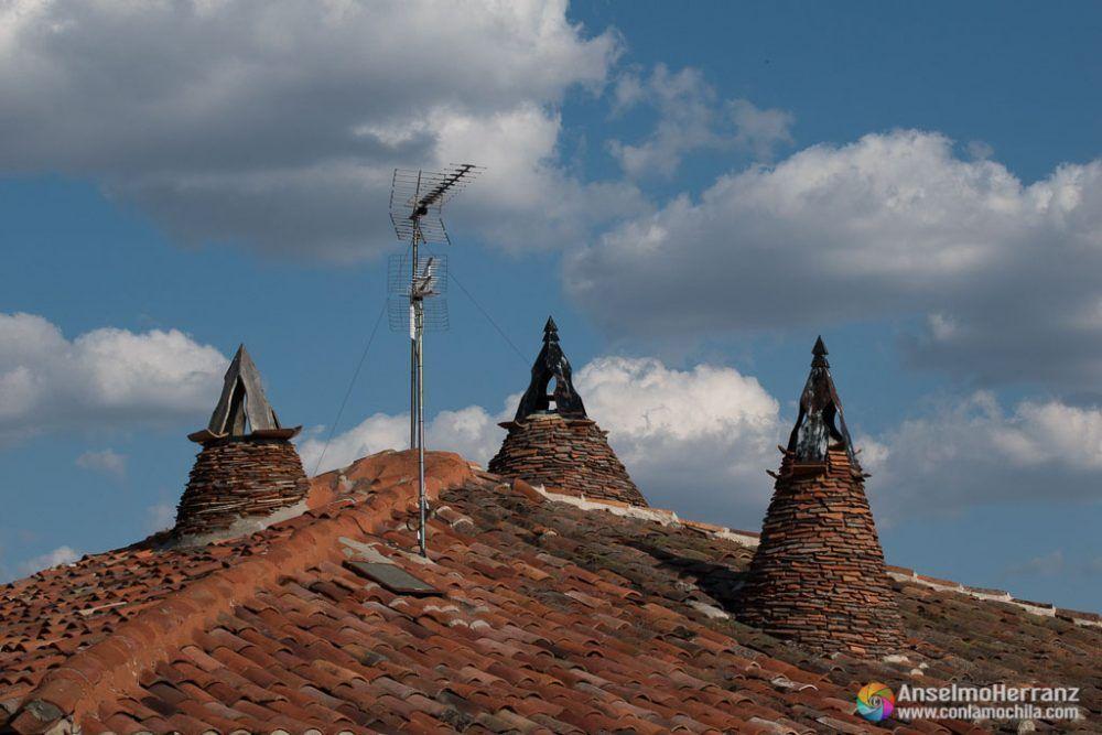 Chimeneas típicas de Calatañazor - Soria