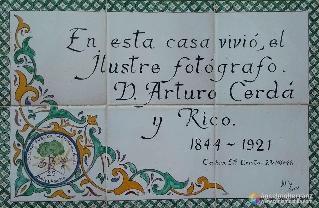 Arturo Cerda y Rico - Cabra - Sierra Mágina - Jaen