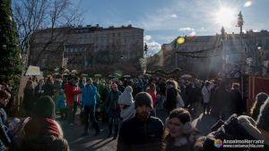 Mercado de Navidad de Plaza de la Paz - Praga