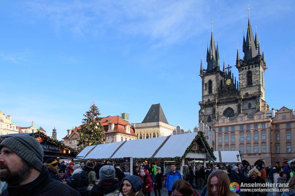 Mercado de Navidad de la Plaza Vieja de Praga