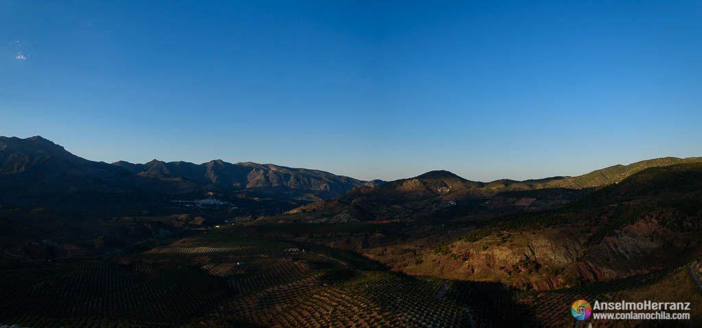 Panorámica desde el Castillo de Solera - Sierra Mágina - Jaén
