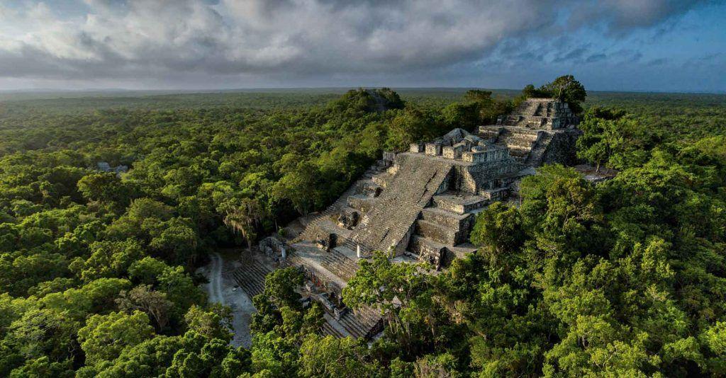 Calakmul, uno de los tesoros de Campeche para descubrir.