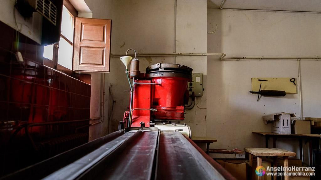 Sala de moldes - Antigua fábrica de chocolate de Miguelañez - Segovia