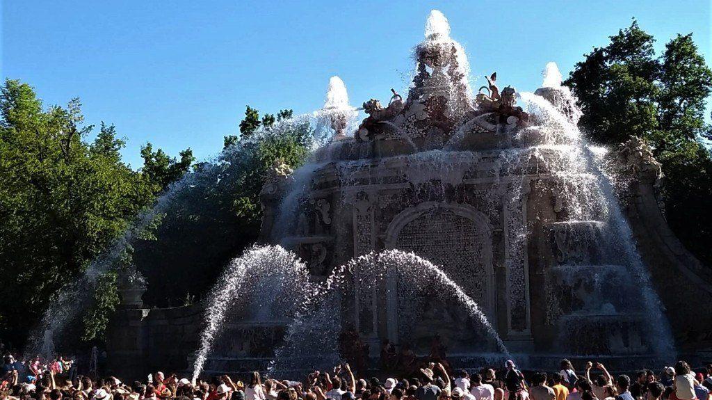 Los baños de Diana - Fuente Monumental de los Jardines de la Granja de San Ildefonso - Segovia