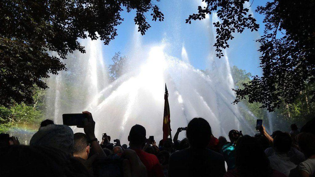 Fuente de las Ranas - Fuentes Monumentales de La Granja de San Ildefonso