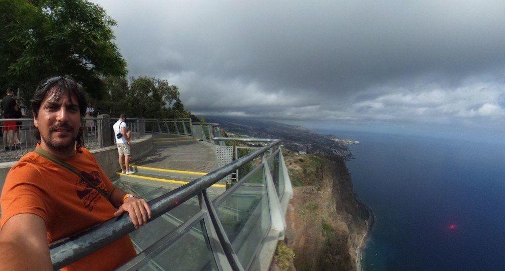 Vistas desde el Mirador de Cabo Girao - Madeira - Portugal