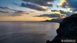 Bahía de Funchal desde el mirador de Cristo Rey - Garajau - Caniço - Madeira