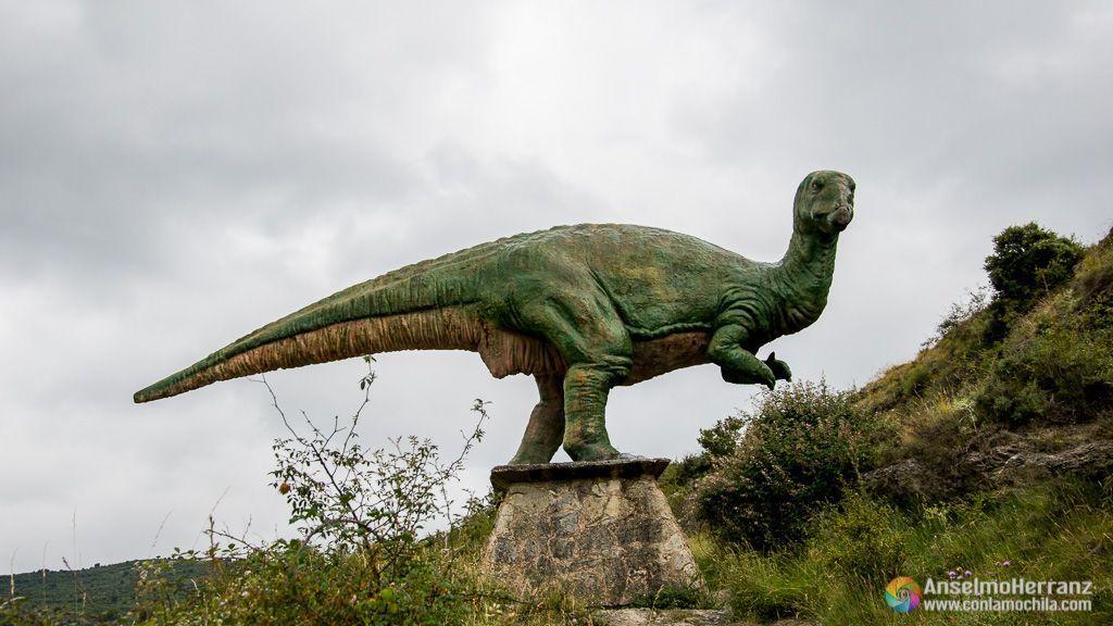Ornitópodo - Dinosaurios del yacimiento de Valdecevillo - Enciso - La Rioja