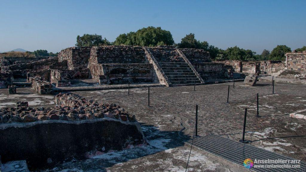 Conjuntos Arquitectónicos prehispánicos en Teotihuacán - México