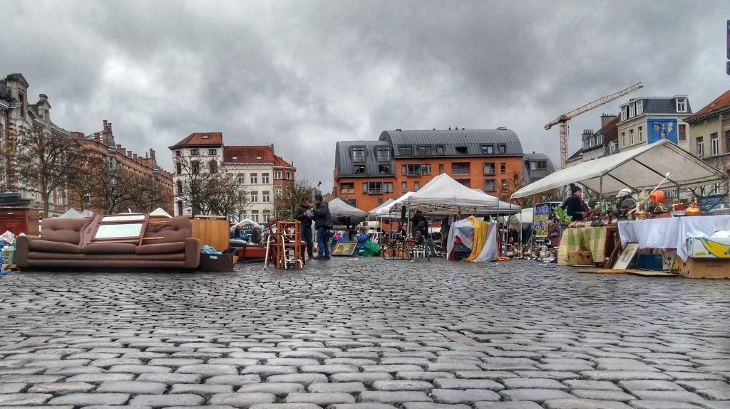 Mercado de las Pulgas - Bruselas