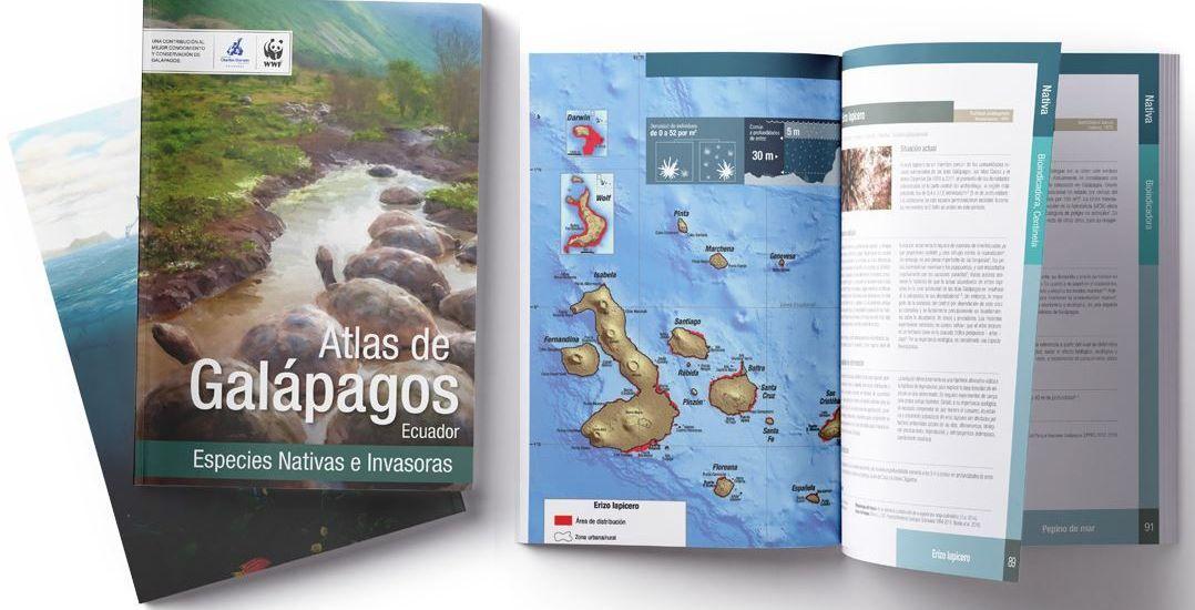 Atlas de Galapagos - Especies Nativas e Invasoras - Fundación Darwin