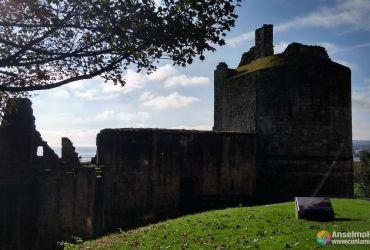 Ravenscraig Castle - Fachada principal