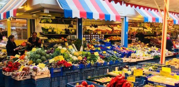 Visita al mercado de Carlsplatz – Dusseldorf