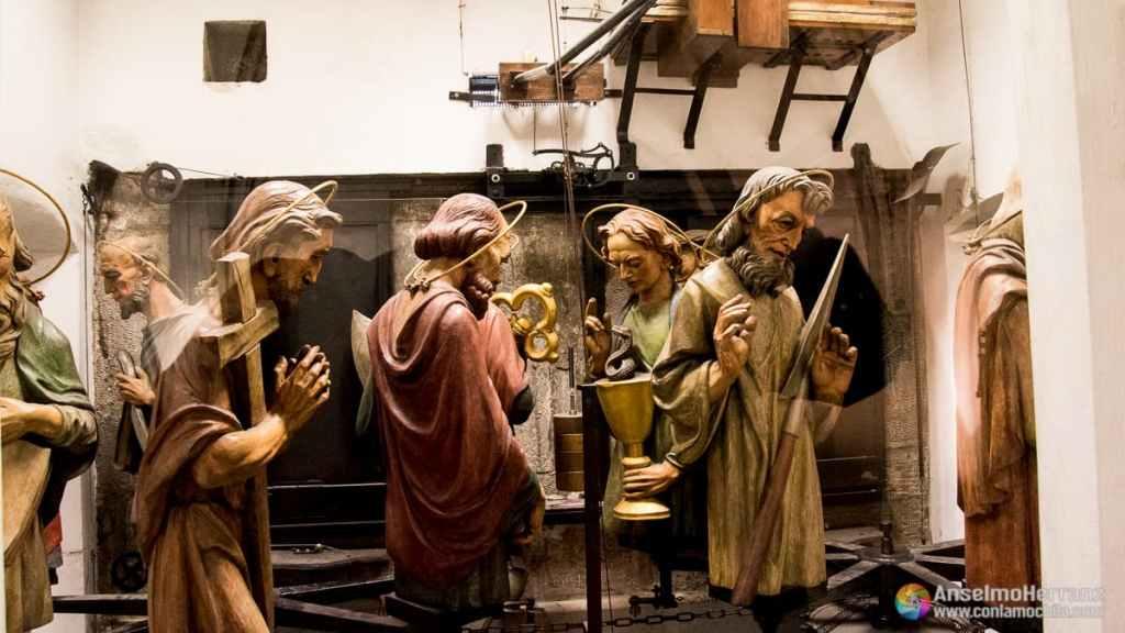 Apóstoles del Reloj Astronómico de Praga - Old Town Hall
