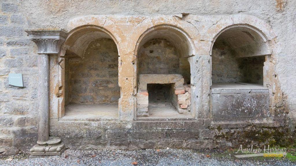 Biblioteca (Armari Claustri) de la Abadía de Escaladieu