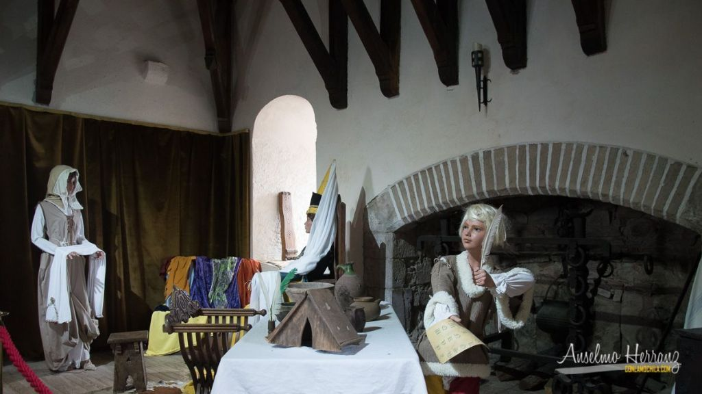 Cocina del Castillo de Mauvezin  - Altos Pirineos - Francia