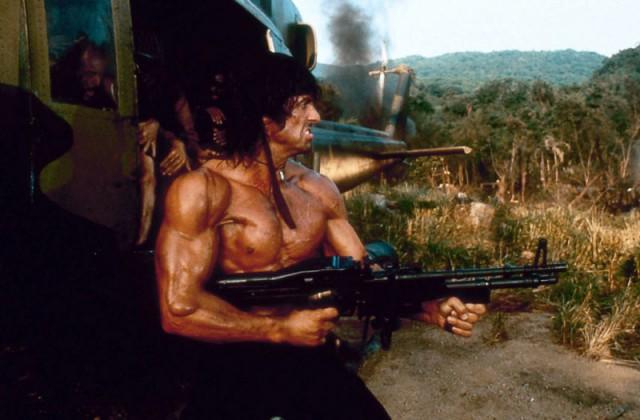 tipos duros en el cine: Rambo