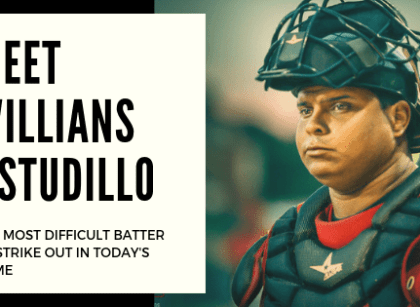 Meet Willians Astudillo, — Is he the most difficult batter to strike out in today's game?