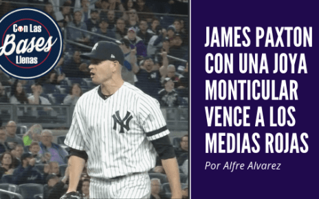 James Paxton emocionado e