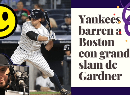Yankees barren a Boston con grand slam de Gardner