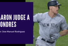 Aaron Judge a Londres