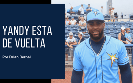 Yandy Diaz regresa de la lesion