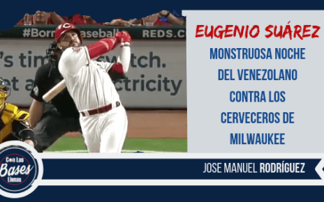 Eugenio Suarez dos cuadrangulares vs Milwaukee