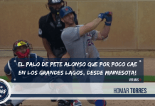 Pete Alonso monstruoso cuadrangular #31
