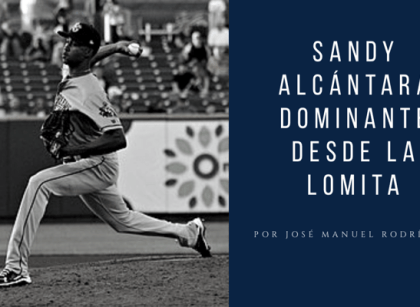 Sandy Alcántara sigue mostrando gran dominio con Miami Marlins
