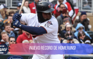 Twins rompen récord de homeruns