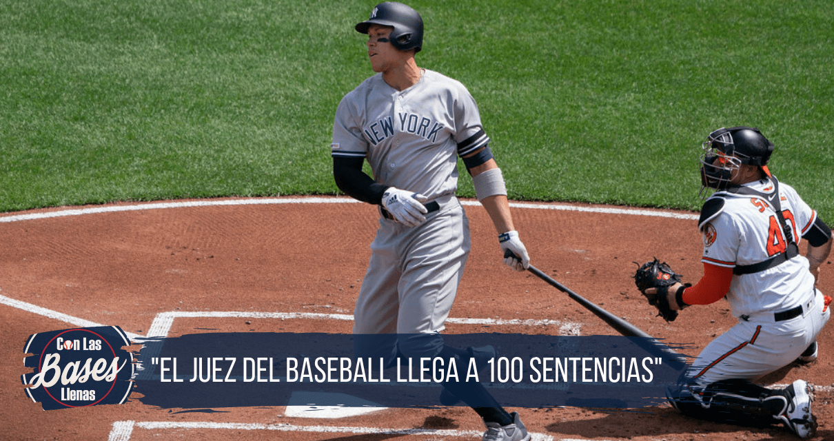 Aaron Judge llega a 100 home runs