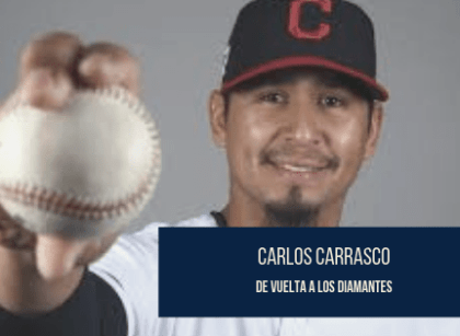 Carlos Carrasco regresa a la lomita