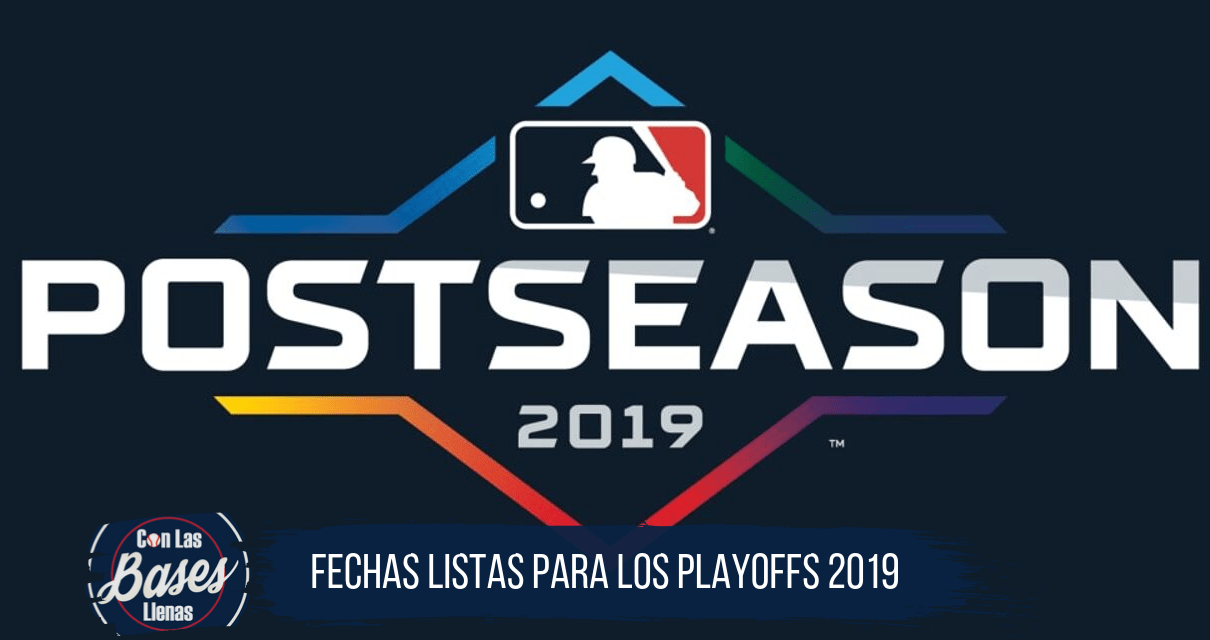 MLB Playoffs 2019 Schedule