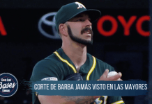 Corte de barba de Mike Fiers