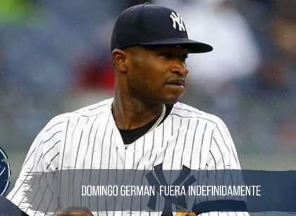 Domingo German suspendido por violencia domestica