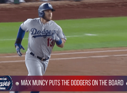 MAX MUNCY PUTS DODGERS ON THE BOARD WITH A SOLO BLAST