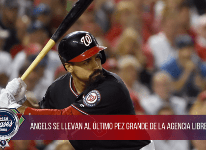 Angels y Anthony Rendon llegan a un acuerdo multianual