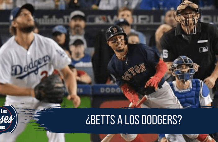 Dodgers y Medias Rojas en negociaciones por Mookie Betts