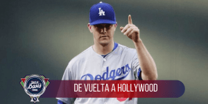 El zurdo Alex Wood de vuelta a los Dodgers de Los Angeles.