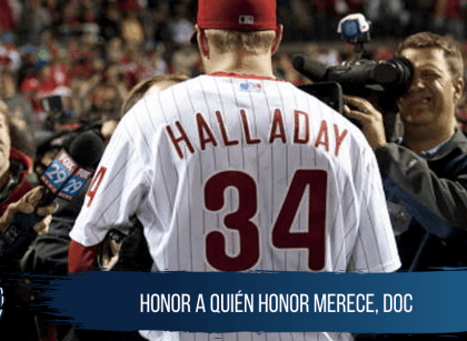 Phillies retirarán el '34' de Roy Halladay