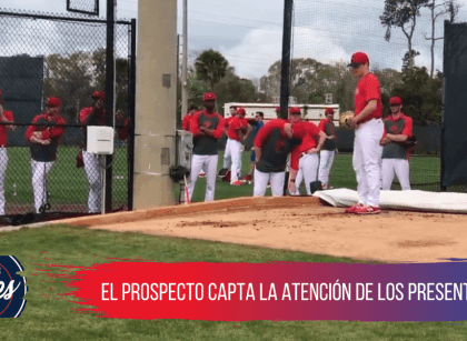 Así se vivió el primer bullpen de Spencer Howard con los Phillies