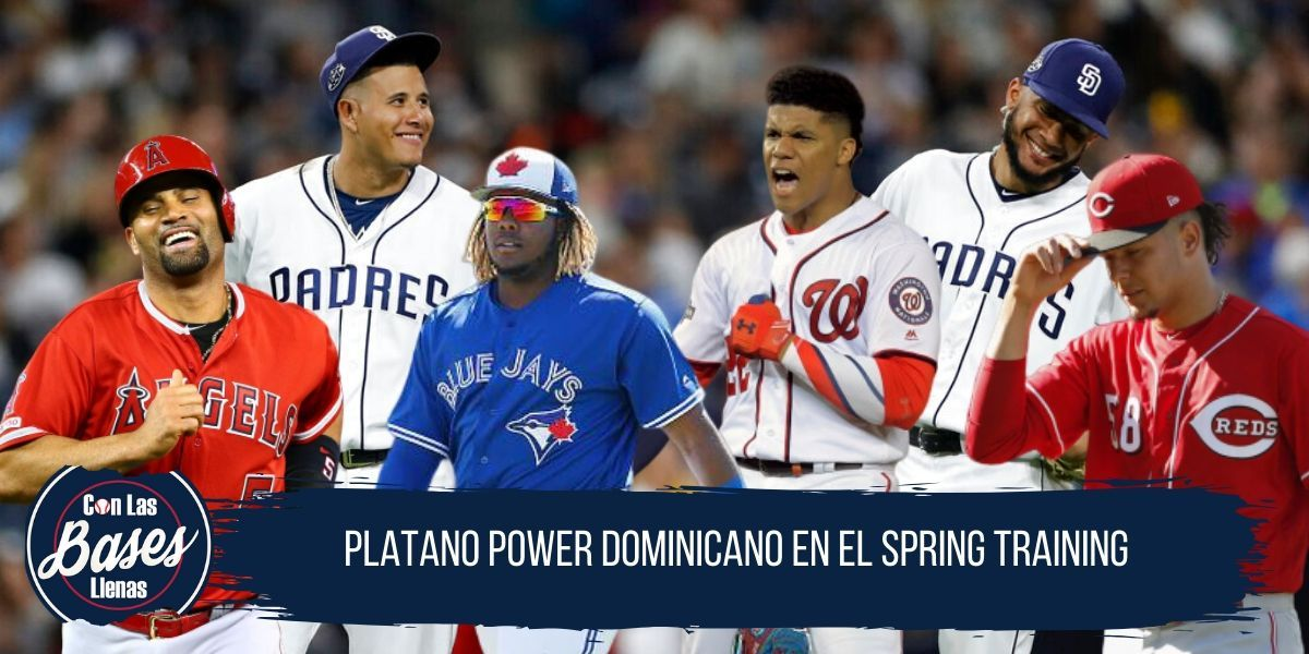 Dominicanos en spring training