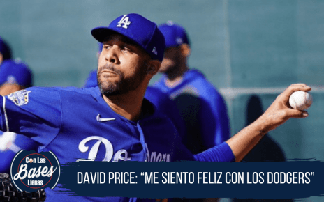 David Price feliz con Los Dodgers