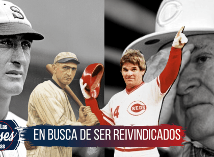 Pete Rose y Shoeless Joe Jackson perdon