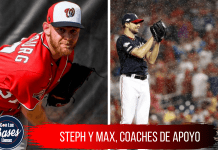 Steph y Max, coaches de apoyo