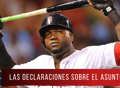 David Ortiz, en desacuerdo con el castigo a Boston Red Sox
