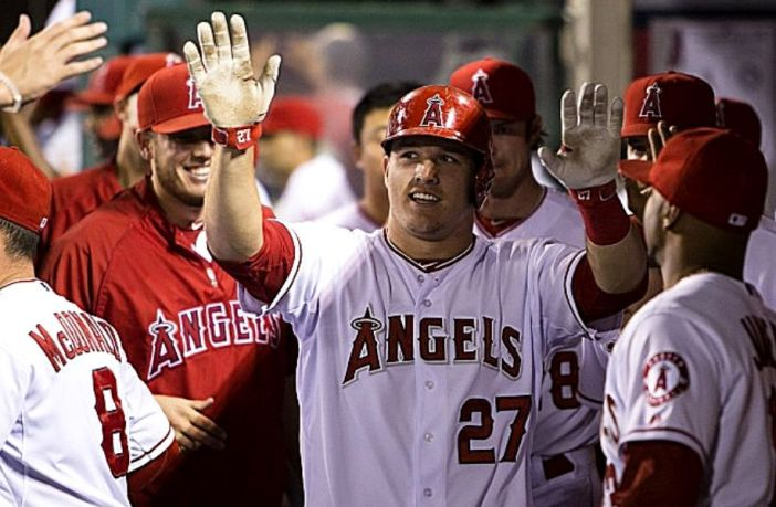 Possible lineup of anaheim angels