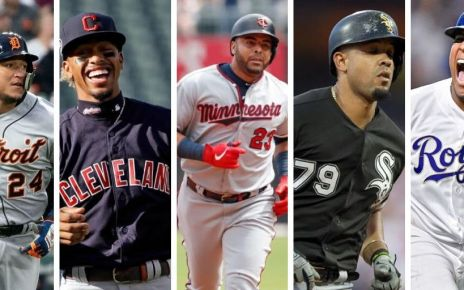 Twins, Tigers, Indians, White Sox, Royals