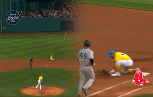 MLB: Xander Bogaerts le quita posible hit a Anthony Rizzo (VIDEO)