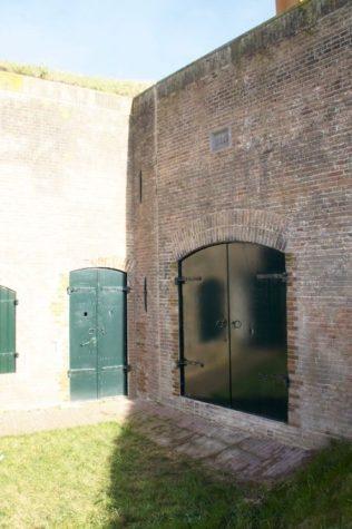 Plaatstalen dichte deuren